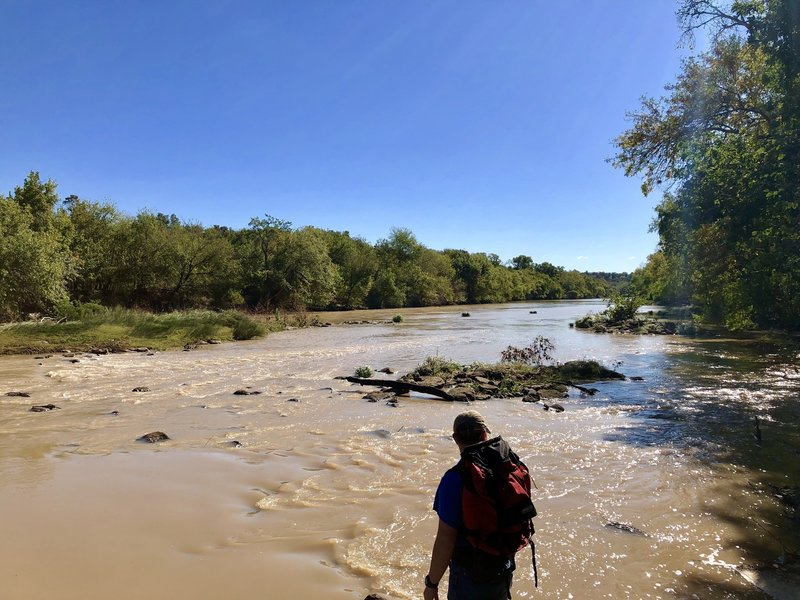 The Colorado River at Riverside Trail