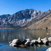Convict Lake and Laurel Mountain from the Marina on the northern shore