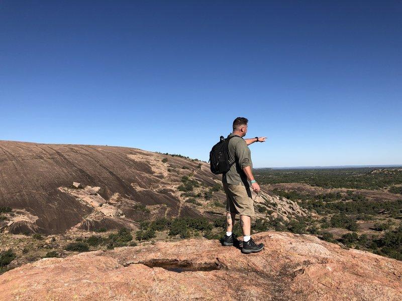 Top of Turkey Peak off of Loop Trail