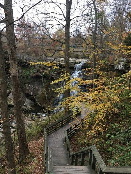 Brandywine Falls in October
