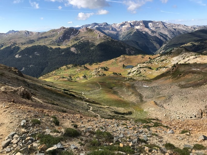 on top of the trail rider pass