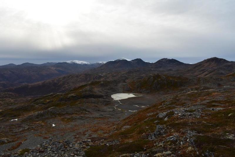 View from cope ridge