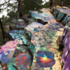 "Another view of ""Hippie Rocks"""