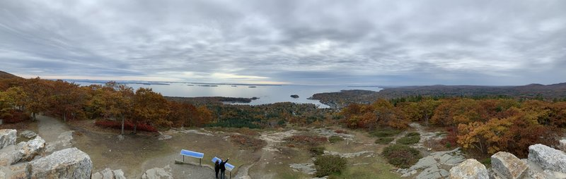 View from Mount Battie Tower