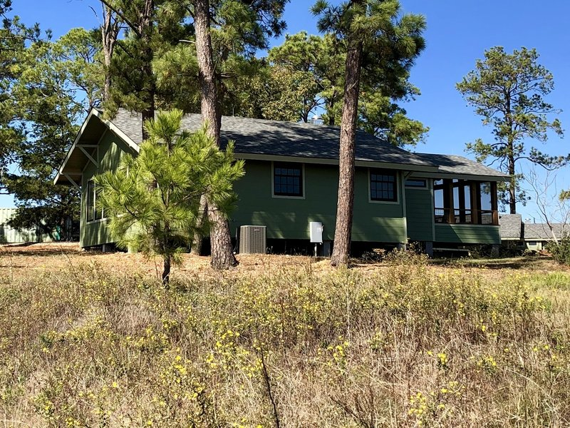 Group barracks near Pine Warbler Trail