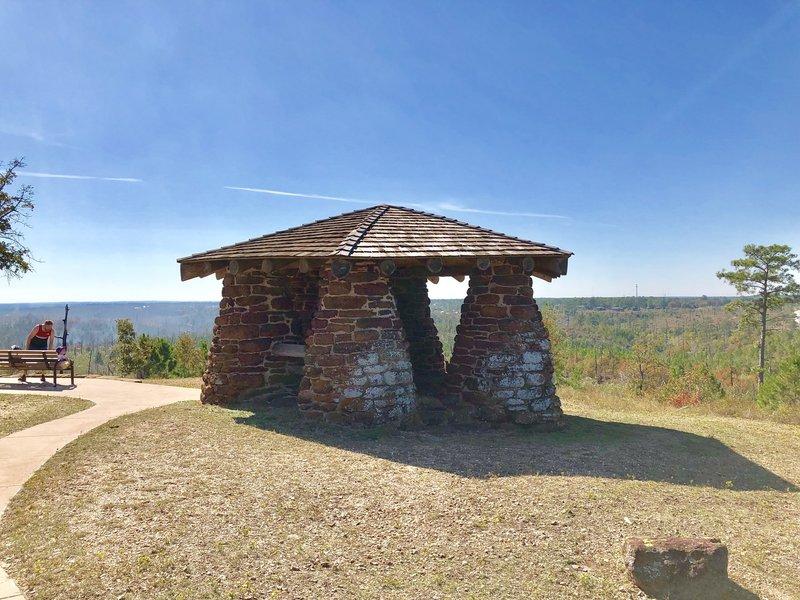 Historic Civilian Conservation Corp Overlook.