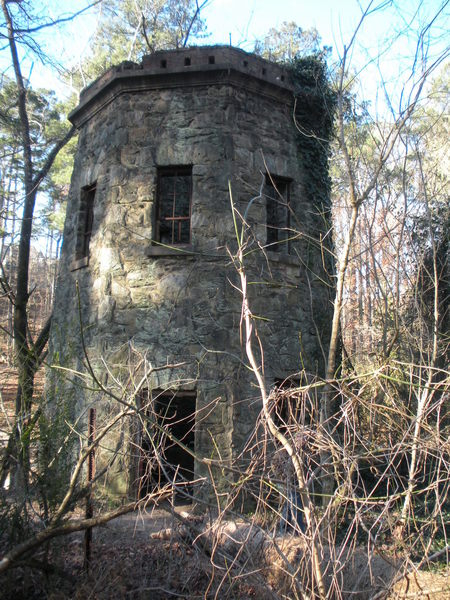 Old hydro power plant