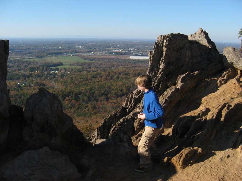 King's Pinnacle at Crowder Mountain SP