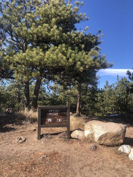 Summit of Flagstaff Mountain