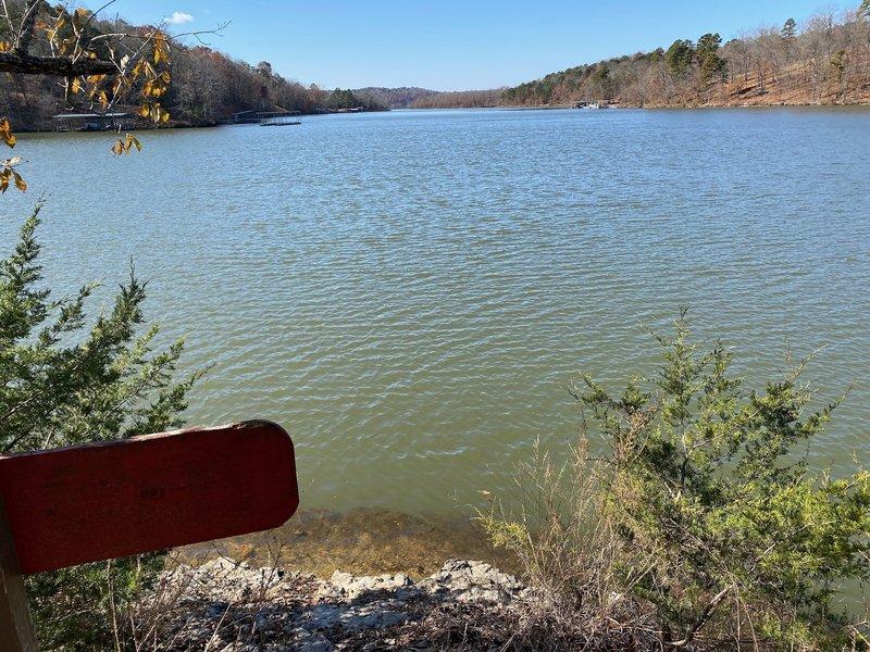 Beaver Lake Overlook.