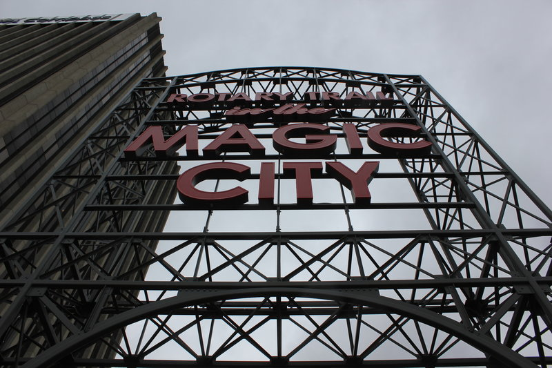 Magic City - Entrance of the Rotary Trail