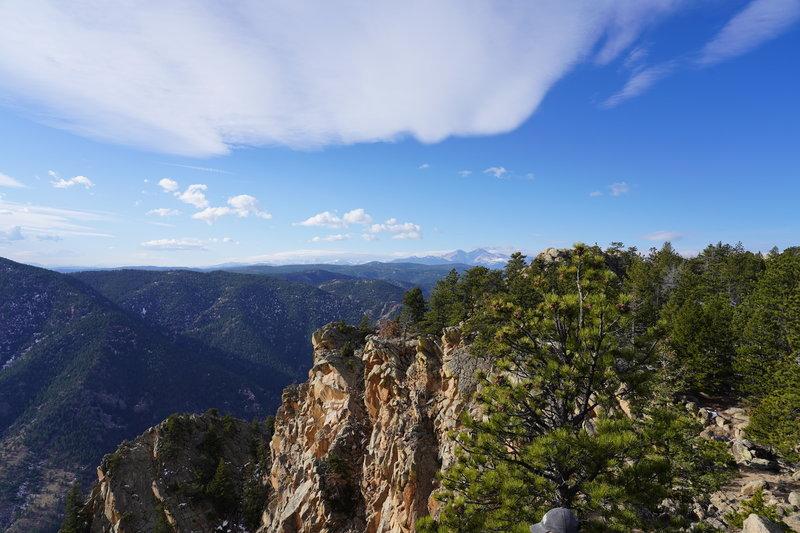 Summit of Palisade Mountain, Drake, Colorado