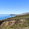 Scenic view on Bluffs Trail