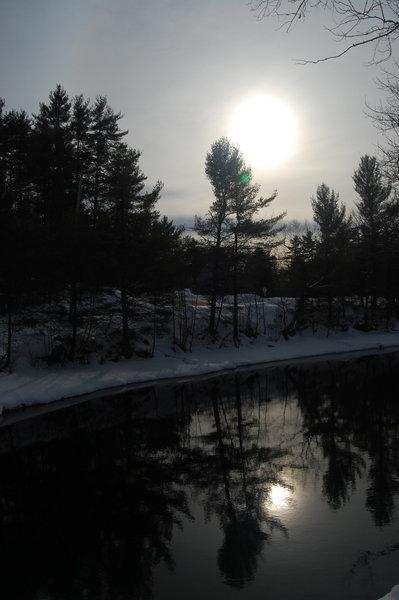 Songo Locks Lake Sebago, Maine