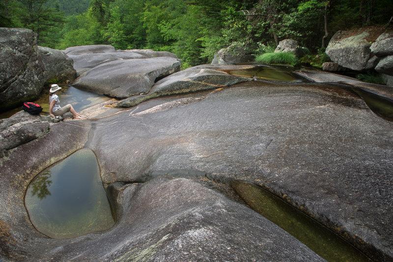 Step Falls dans le Maine
