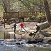 Fisherman on the Jakob Fork