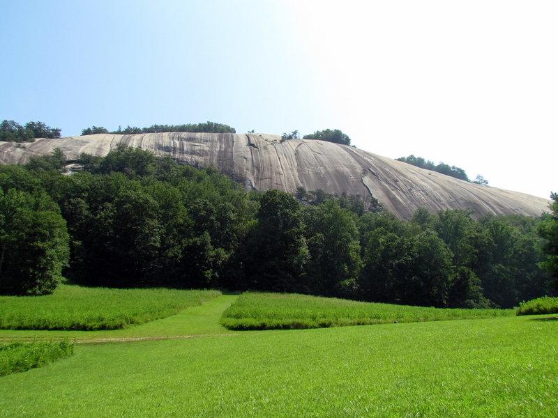 Loop Trail Stone Mountain NC SP