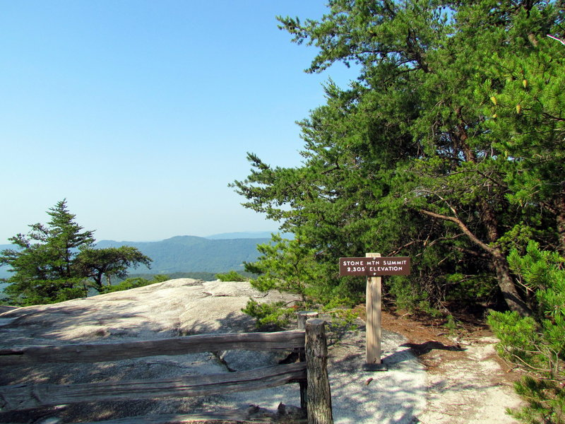 Loop Trail Stone Mountain NC SP
