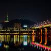 Namsan Tower from Hannam Bridge