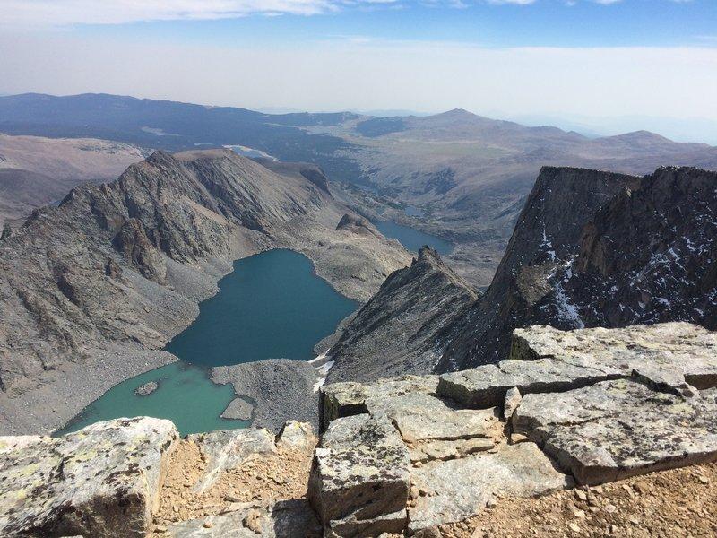 August 2016 - At the Summit of Cloud Peak