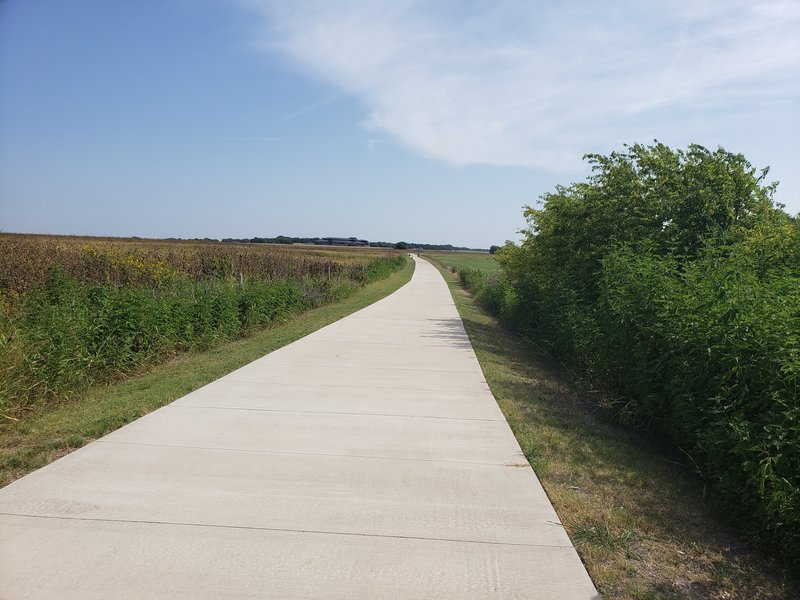 Portion of Pepper Creek Trail between SH36 and Central Pointe Parkway