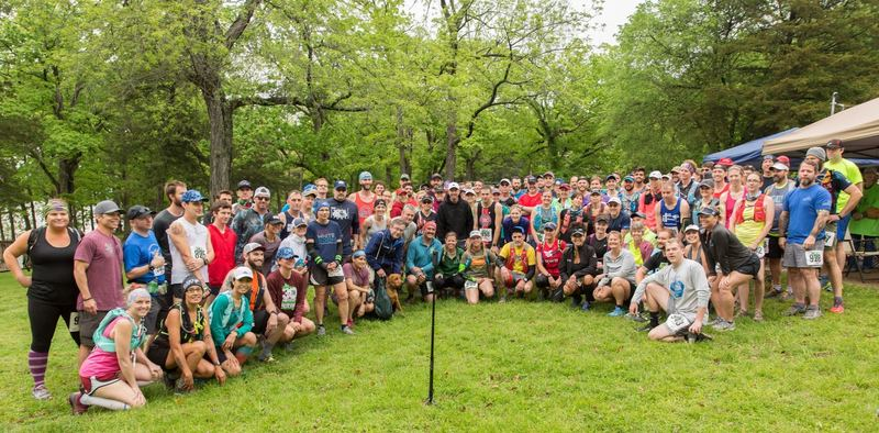 Prerace Group Shot | Trail of Four Winds 25K