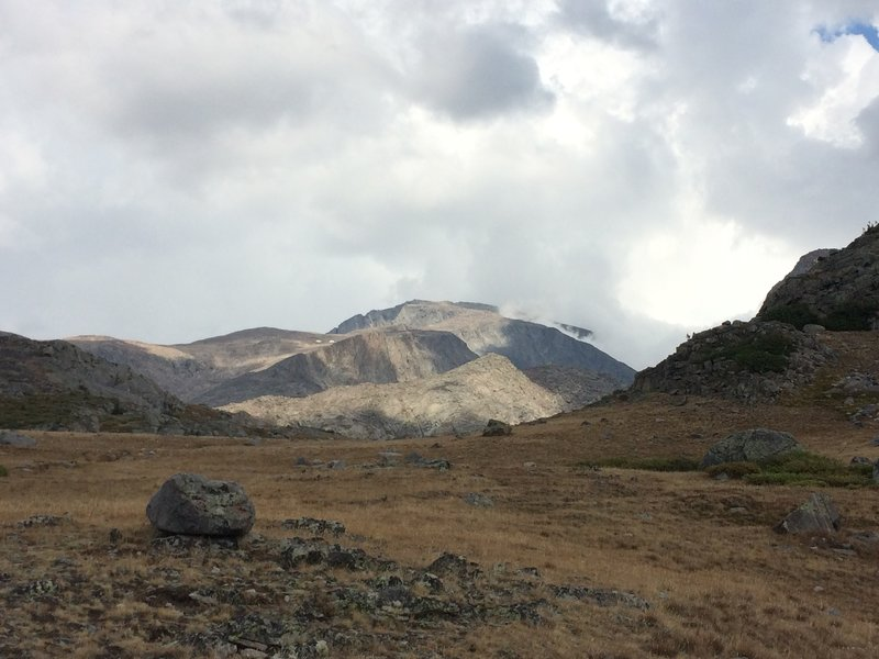 August 2016 - Just North of Misty Moon Lake looking at Cloud Peak