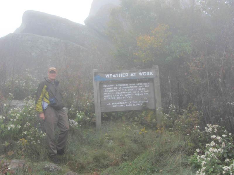 20110919 19 Sharp Top Trail, Peaks of Otter, Virginia