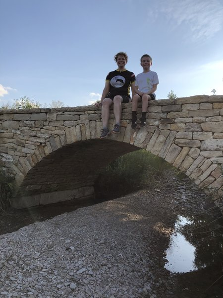 The mortarless stone bridge is pretty awesome!