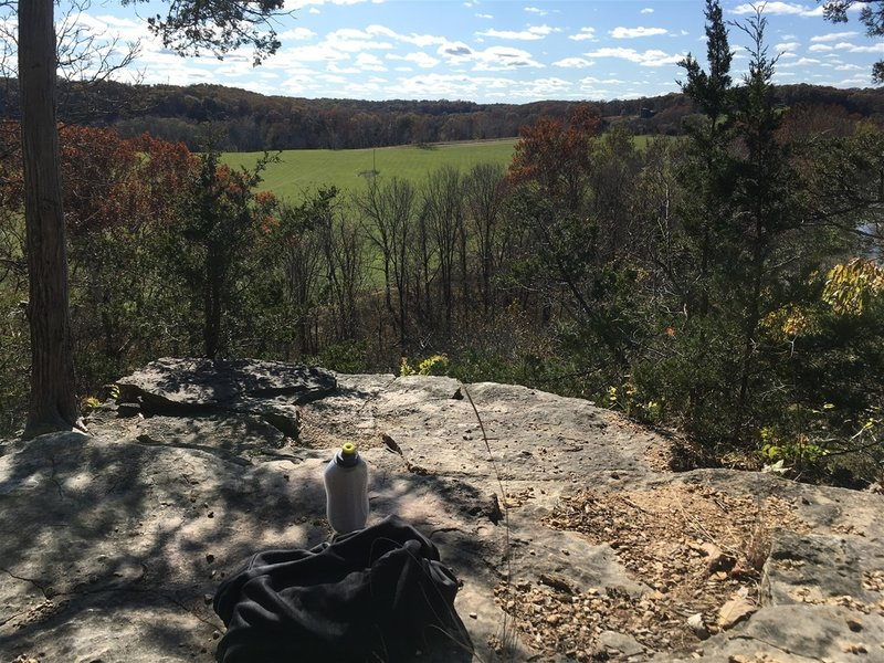 One of my favorite lookout points along the route!  Approximately 1.3 miles in.