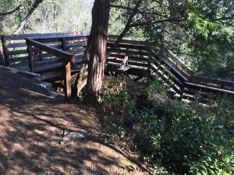 Start of the Monument Ridge Trail