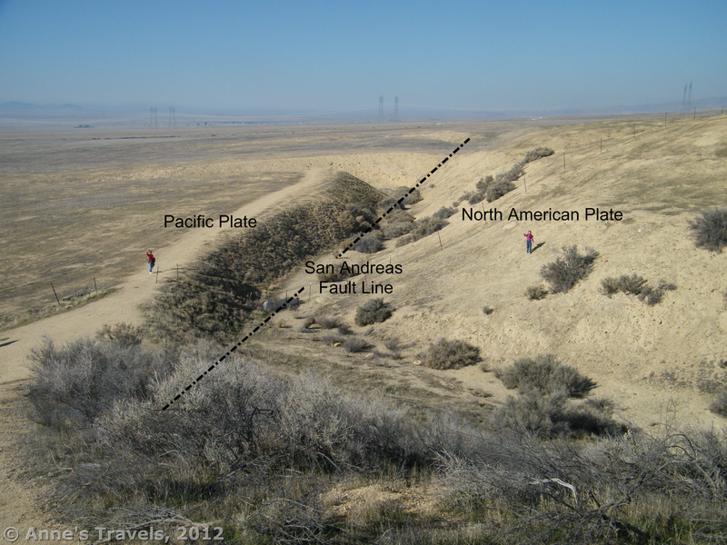 The plates shifted along the fault line and moved the course of the river