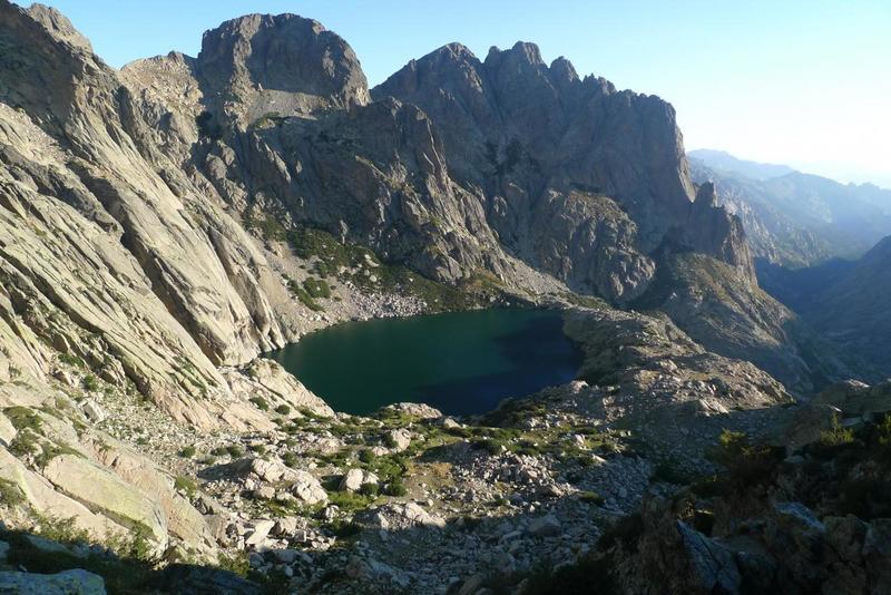 Lake near Petra Piana