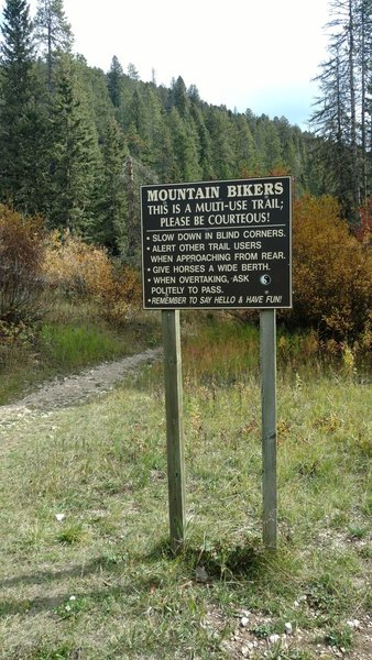 Mystic Cabin Trail 2.5 mile