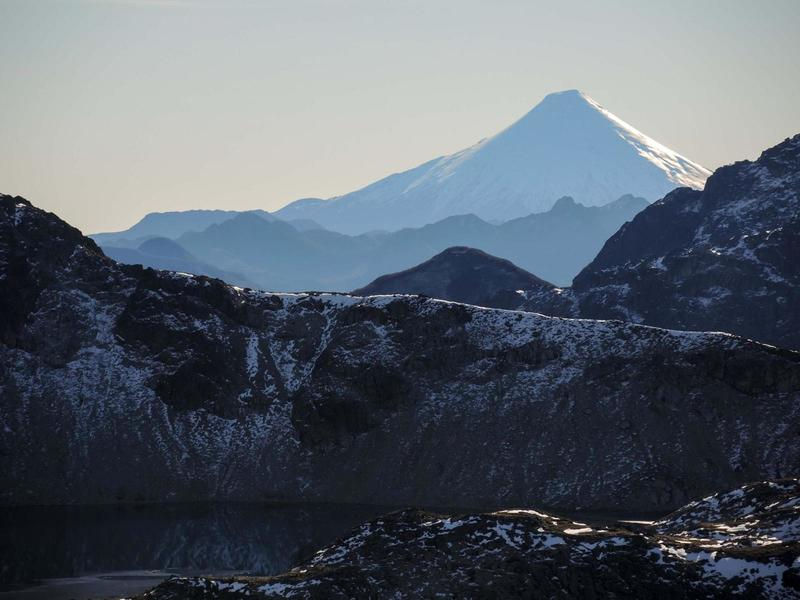 Cerro Tronador from Arco Iris
