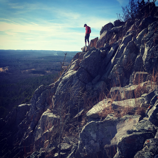 Some fun class 3 scrambling will get you to great spots like these!