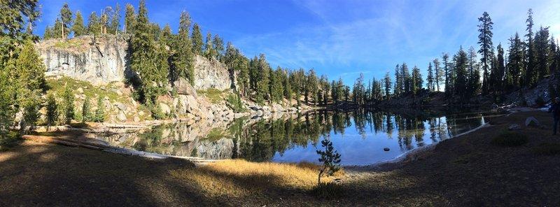 Terrace Lake in late October