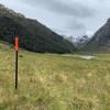 Final trail marker