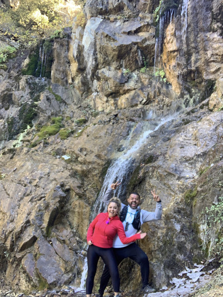 End of Trail Waterfall Shot!