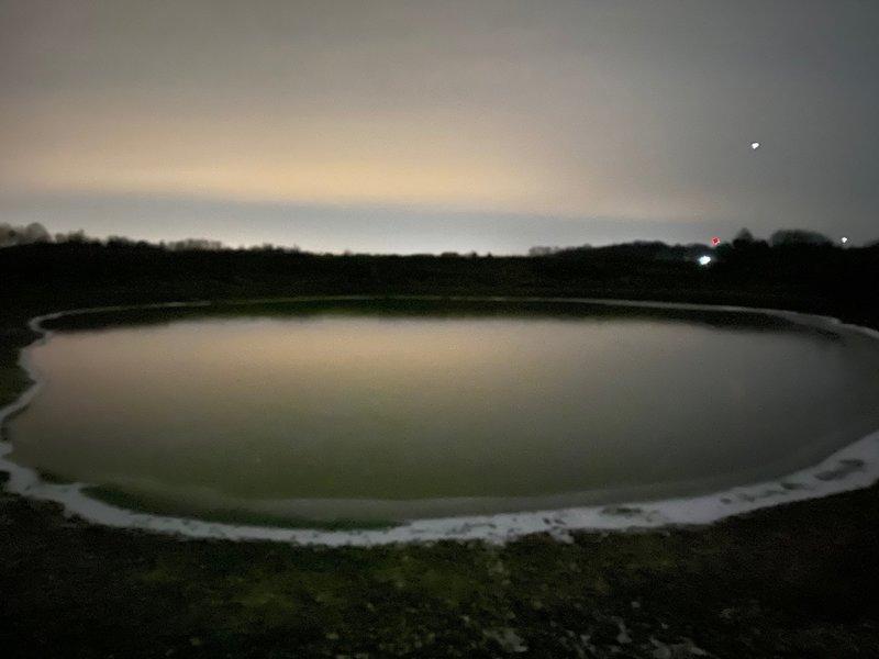 Pond after Dark