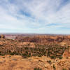 View from Whale Rock towards the Upheaval Dome