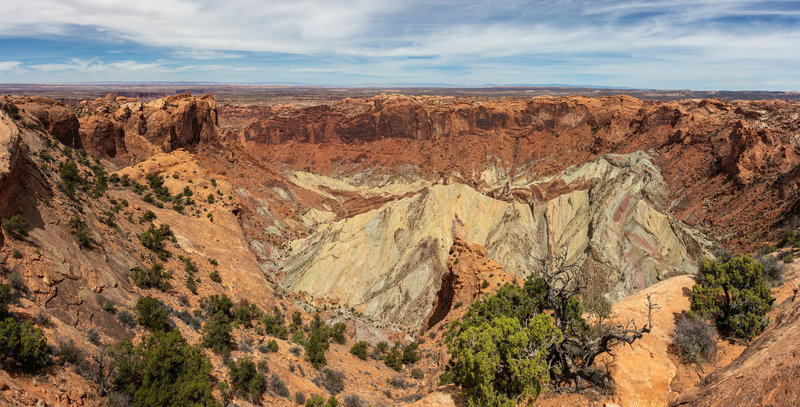 Upheaval Dome from the first overlook