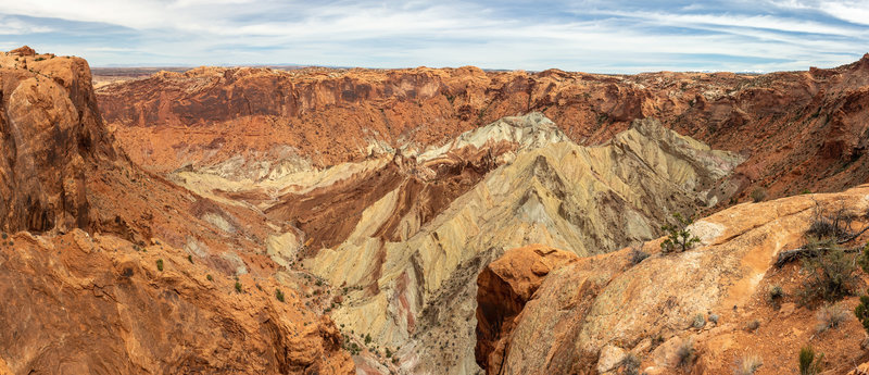 Upheaval Dome from the second overlook