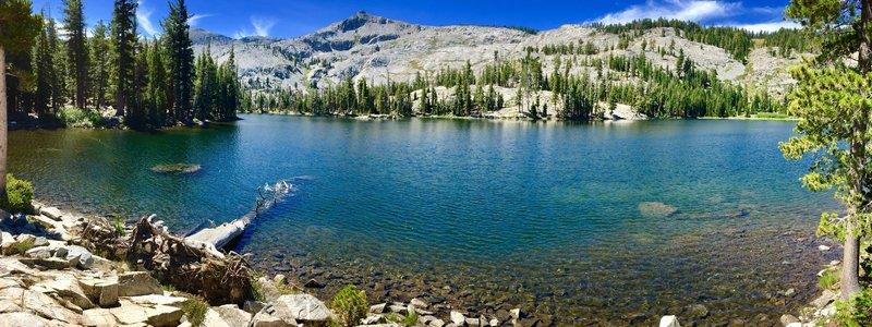 Tamarack Lake a short walk off the trail