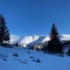 Looking back at Berthoud Pass