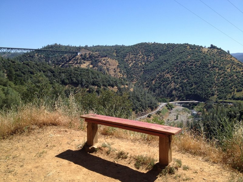 Bench with a View, Stagecoach Trail 2014