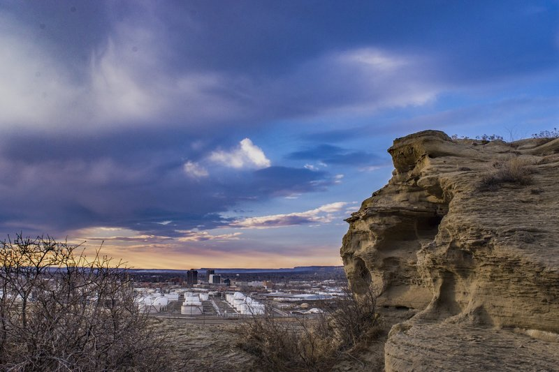 """""""Four Dances Natural Area 09"""" by Bureau of Land Management Montana and Dakotas (https://tinyurl.com/yz6ccj73), Flickr licensed under CC BY-SA 2.0 (https://creativecommons.org/licenses/by-sa/2.0/)."""