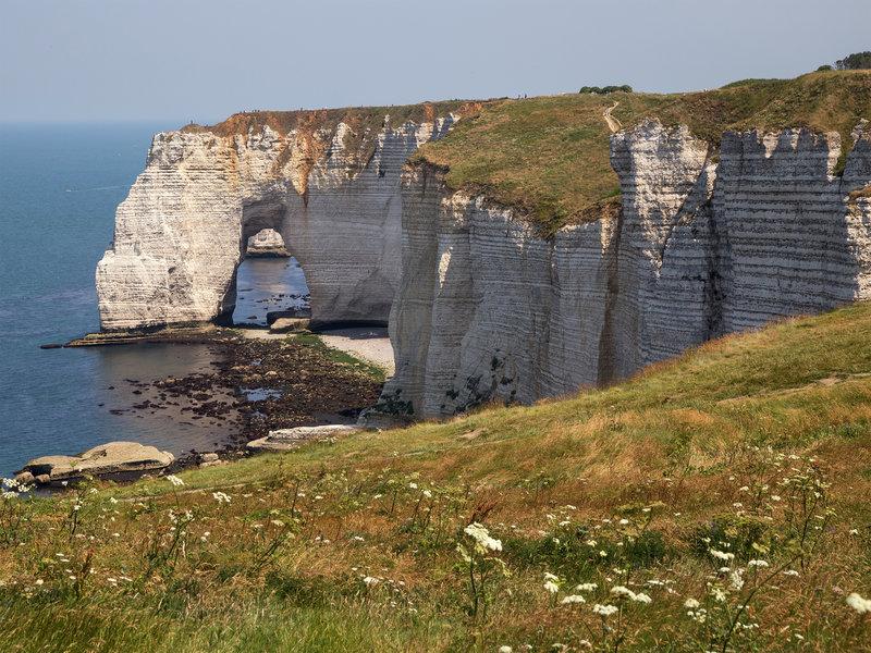 Côte d'Albâtre, cliffs near Etretat