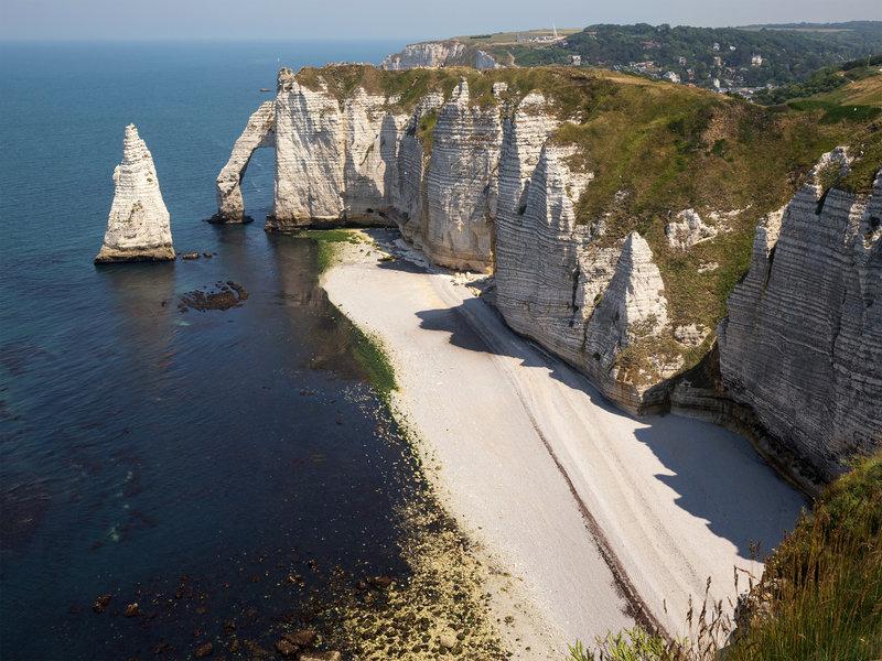 Cliffs near Etretat (Côte d'Albâtre)