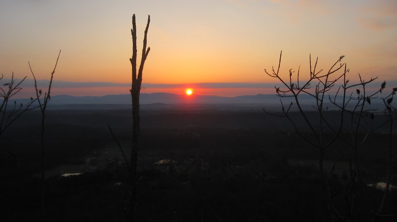 Sunrise at Buzzard's Roost